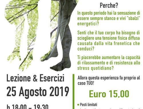 Bioenergetica sui Calanchi di Atri – Domenica 25 Agosto 2019