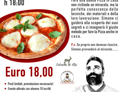 Martedì 13 Agosto 2019 – I Segreti della Pizza